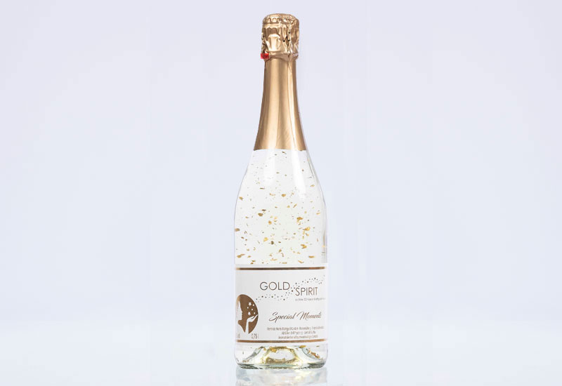 Gold Spirit - Sekt mit Goldflocken
